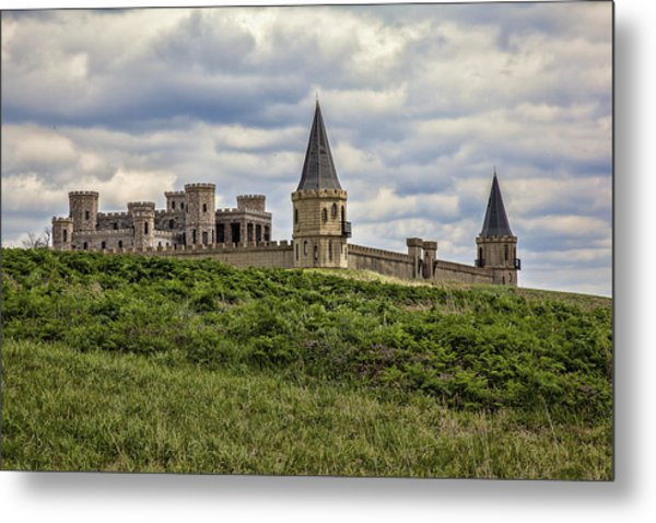 The Castle - Versailles Ky Metal Print