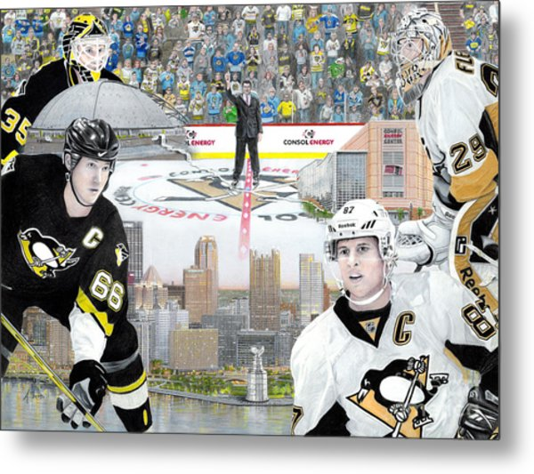 The Changing Of The Guard Metal Print