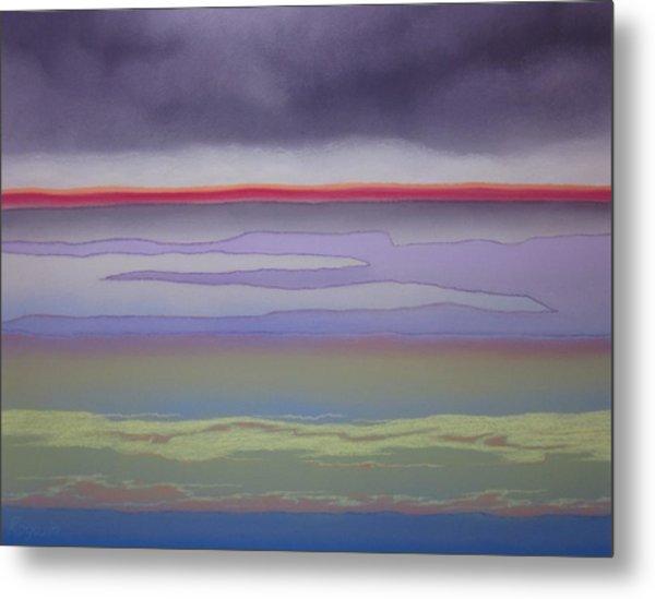 The Changing Skies Metal Print by Harvey Rogosin