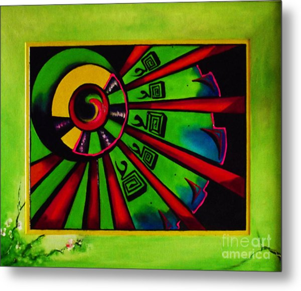 The Channel Metal Print by Donna Chaasadah