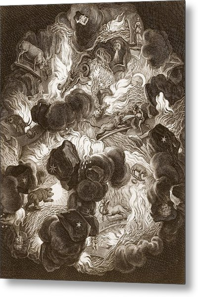 The Chaos, Engraved By Bernard Picart Metal Print
