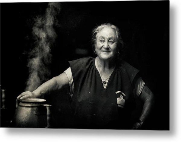 The Chestnut Cook Metal Print