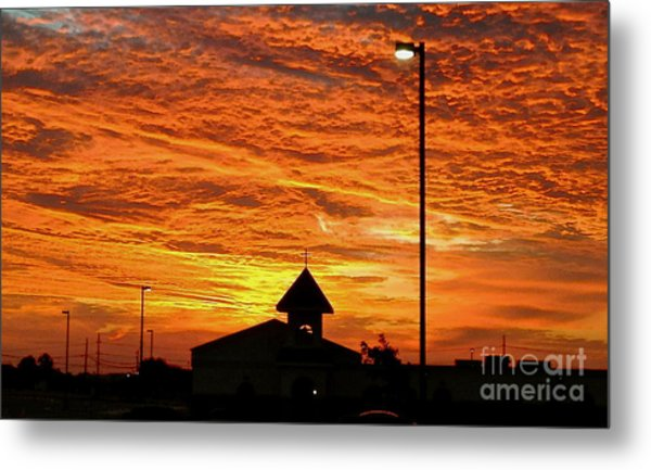 The Church - No.0469 Metal Print