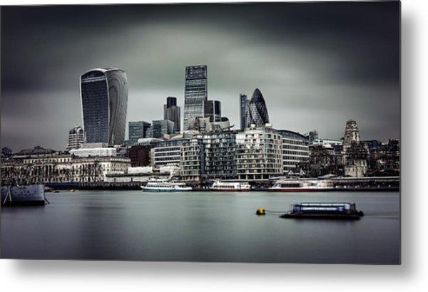 The City Of London Metal Print