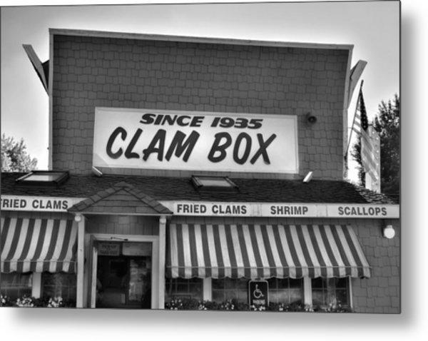 The Clam Box Metal Print by Joann Vitali