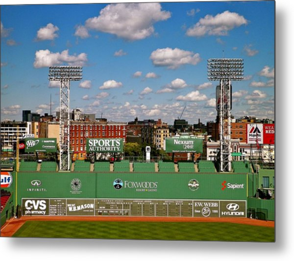 The Classic II Fenway Park Collection  Metal Print