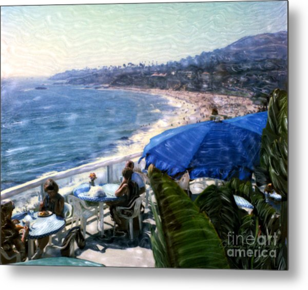 The Cliff Laguna Beach Metal Print