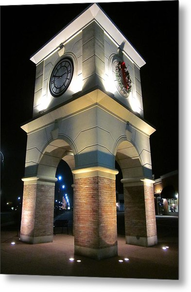 The Clock Tower Metal Print by Guy Ricketts