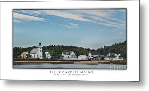 The Coast Of Maine Metal Print