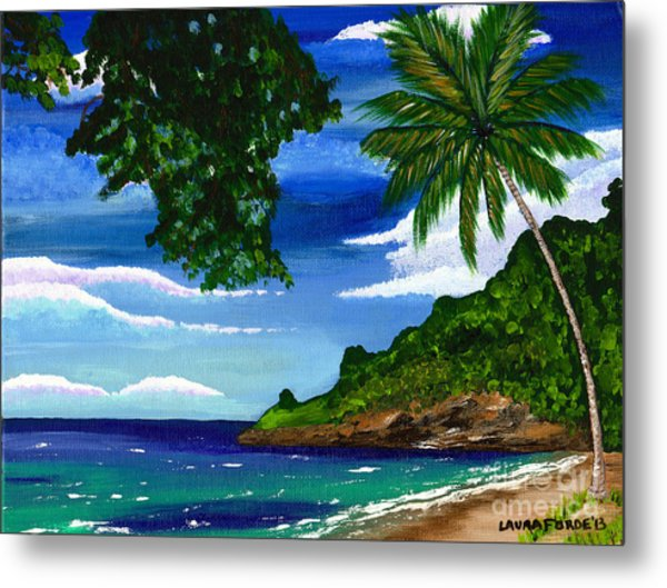 The Coconut Tree Metal Print