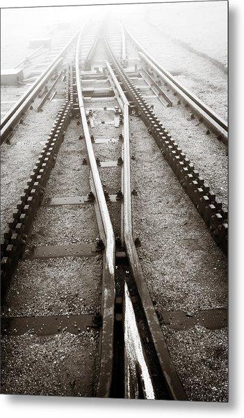 The Cog Railway Metal Print