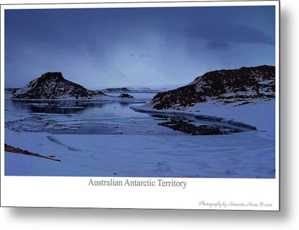 The Cold March Metal Print by David Barringhaus