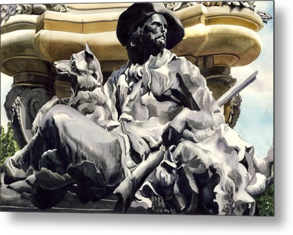 The Colorado Settler Metal Print by Alfred Ng