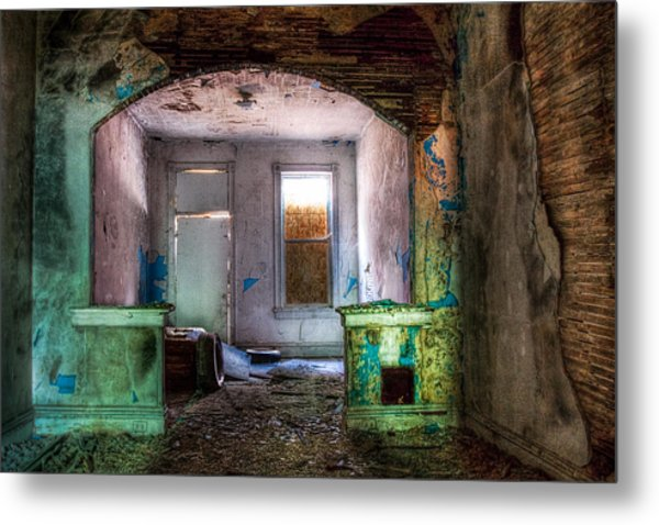 The Colors Of Decay Metal Print