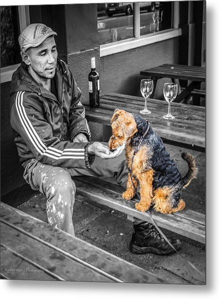The Colors Of His Life Metal Print
