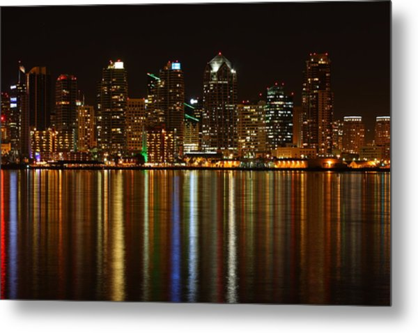 The Colors Of San Diego Metal Print