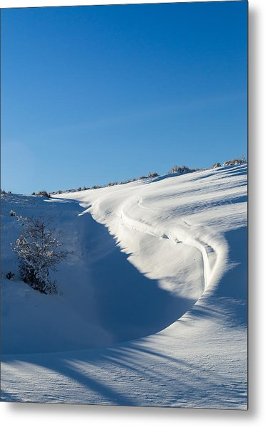 The Colors Of Snow Metal Print