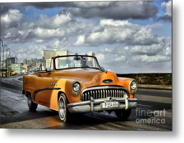 The Colour Ride Metal Print
