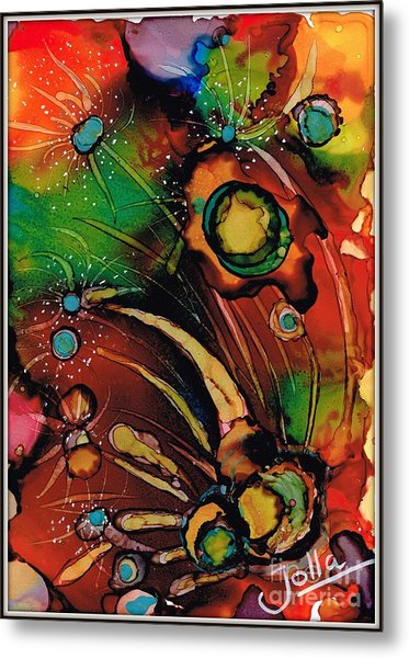 The Colours Of My Mind.. Metal Print