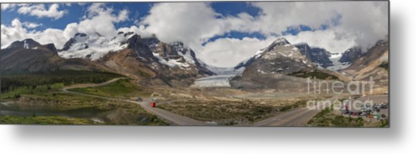 The Columbia Icefield Metal Print