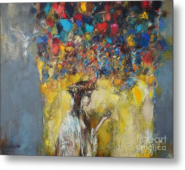 The Coming Of Spring Metal Print