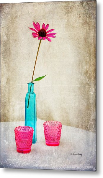 The Coneflower Metal Print