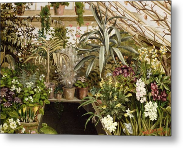 The Conservatory Metal Print