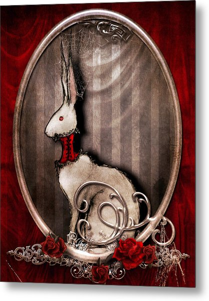 The Corset Metal Print