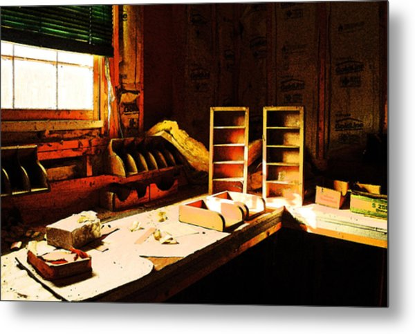 The Counting House Metal Print