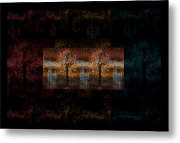 The Country Side Metal Print