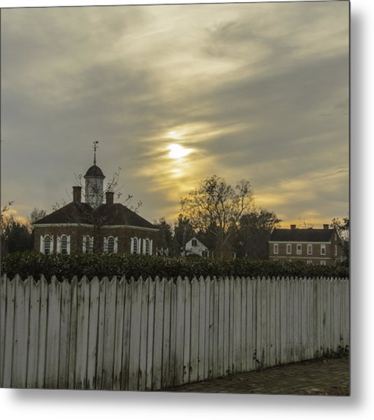 The Courthouse At Colonial Williamsburg Metal Print