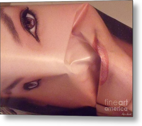 The Cover Girl Metal Print
