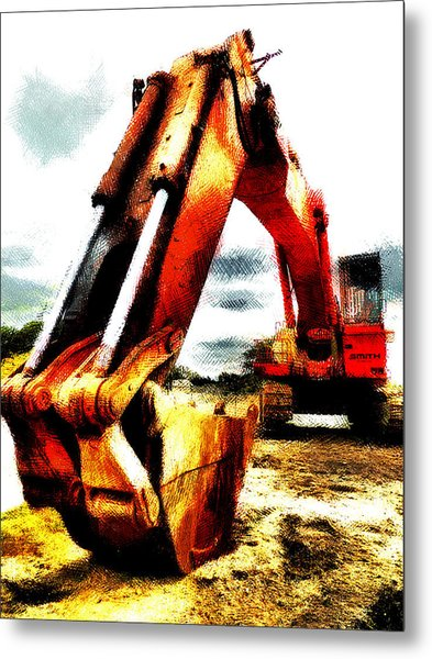 The Crab Claw Metal Print