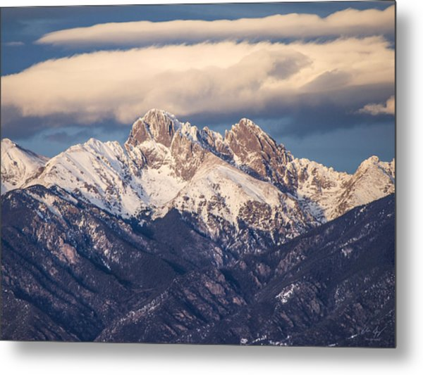 The Crestones Metal Print