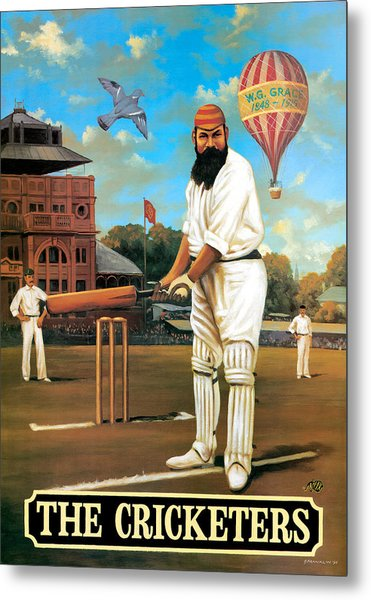 The Cricketers Metal Print