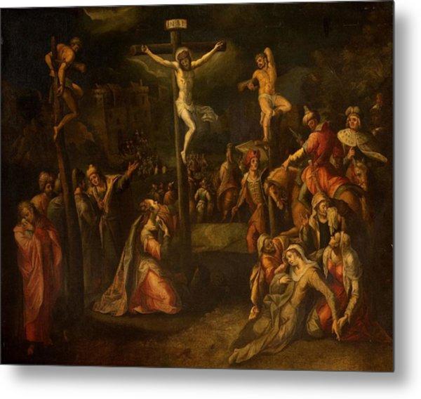 The Crucifixion, 1550?-1700 Metal Print