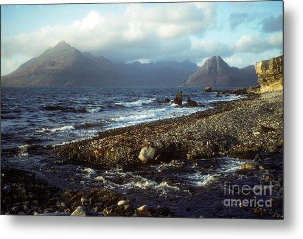 The Cuillins From Elgol - Isle Of Skye Metal Print
