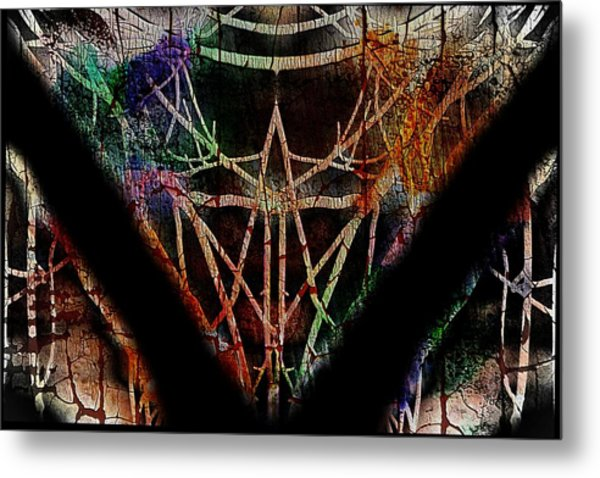 The Curious Colours Of Life Metal Print