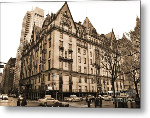 The Dakota Vintage Look Metal Print