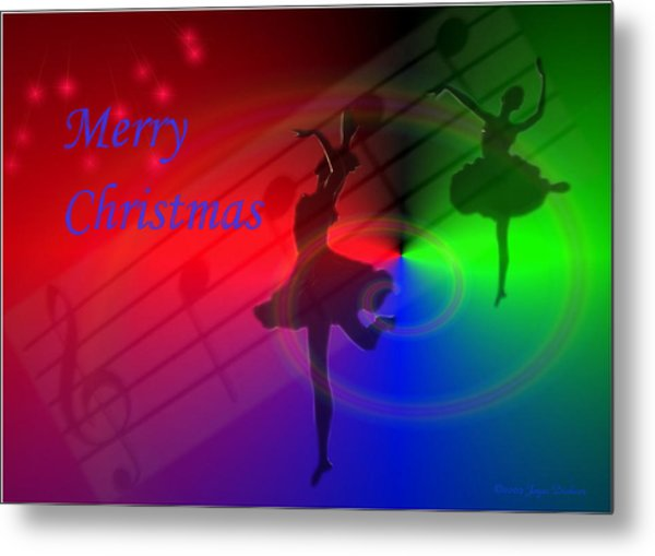 The Dance - Merry Christmas Metal Print
