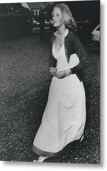 The Danes Believe Countess Desires Could Be The Bride For Metal Print by Retro Images Archive