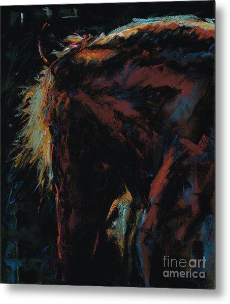 The Dark Horse Metal Print