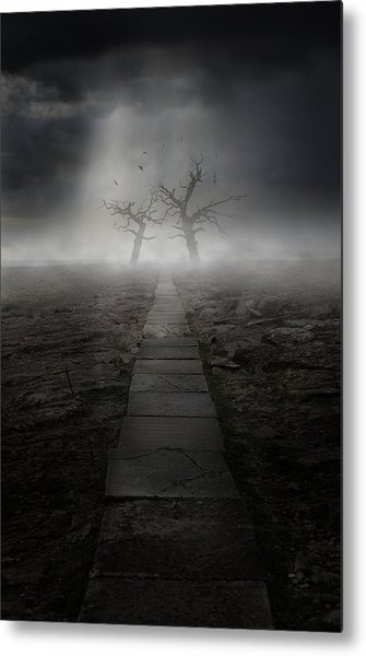 The Dark Land Metal Print