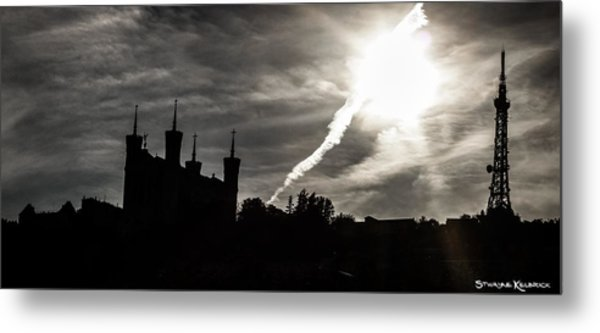 The Dark Towers Metal Print
