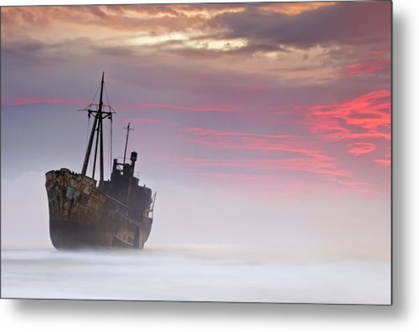 The Dark Traveler Metal Print by Mary Kay