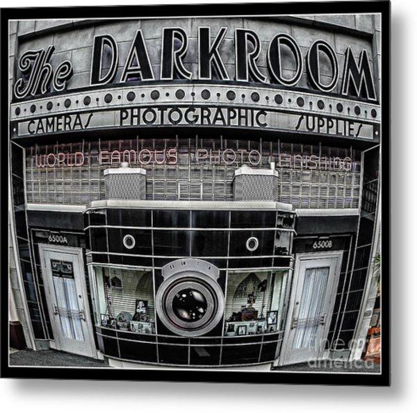 The Darkroom Metal Print