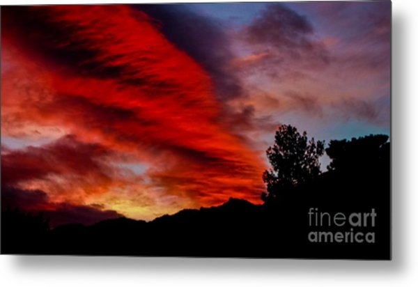 The Day Is Done Metal Print