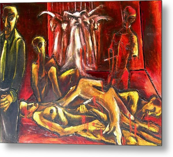 The Death Room Metal Print