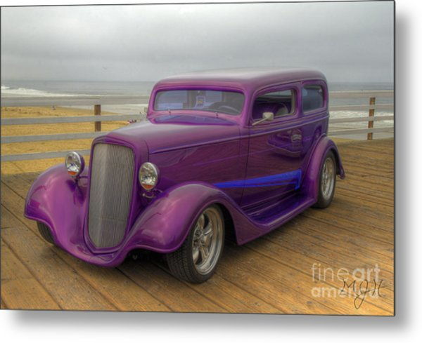 The Deep Purple Ride Metal Print