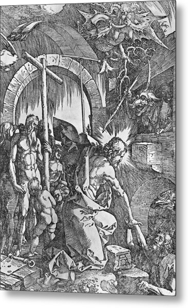 The Descent Of Christ Into Limbo Metal Print
